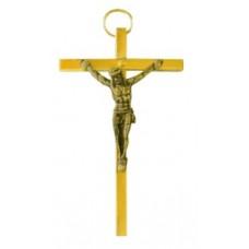 Krzyż wiszący 7.5cm mosiądz