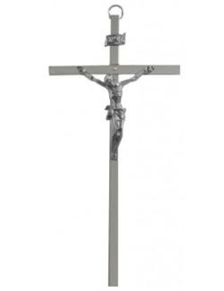 Krzyż wiszący 20cm nikiel