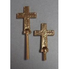 Krzyż na urnę 4,5cm+śruba
