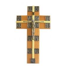 Krzyż wiszący z Droga Krzyżową
