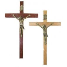 Krzyż wiszący 12cm drewno