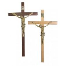 Krzyż wiszący 19cm drewno