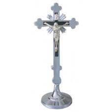 Krzyż tradycyjny h18 chrom