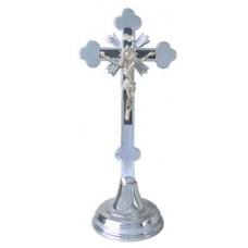 Krzyż tradycyjny h20.5 chrom