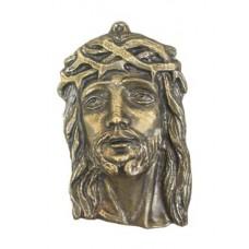 Plakietka Głowa Chrystusa duża
