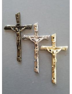 Krzyż na urnę 7,5/4cm odlew z otworami